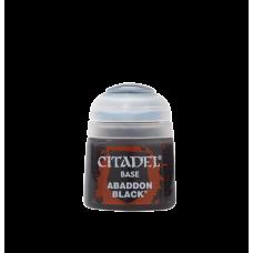 Abaddon Black -Citadel Colour BASE