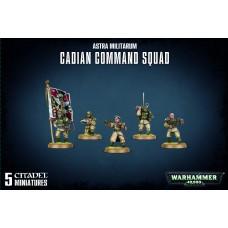 Astra Militarum  Cadian Command Squad
