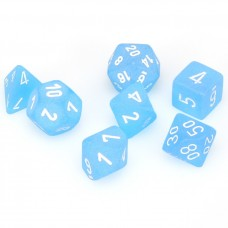 Dice 7-set Frost Caribou White